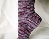 Plain Janes Sock Knitting Pattern PDF