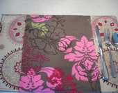 Reversible placemats - 2 fabric