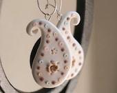 Candy Dots Paisley Earrings