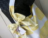 Purse - Tote Bag - The Sling Bag - Book Bag - Handmade Canvas Bag - Market Bag - Computer Bag - Decorator Fabric - Library Bag