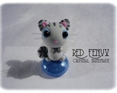 Grey Angel Kitten, Miniature figurine