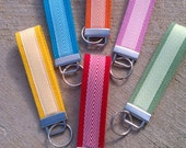 Chevron key fob - You choose color