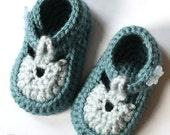Baby Sandal Booties (crochet pattern)