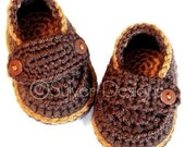 Little Button Loafers (crochet pattern)