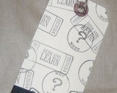 Tag Bookmark with Envelope School Teacher Learn Student Lunch Bag Note - creativedesigns