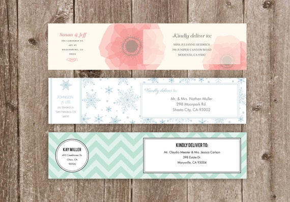 Wrap Around Address Labels Printable