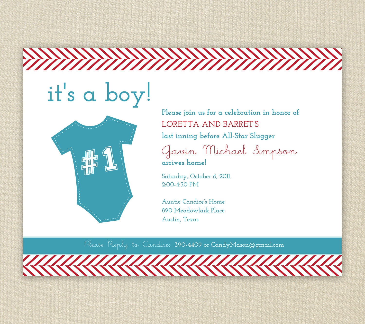 little slugger baseball themed baby shower invitation