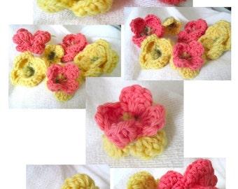 Hope's Flowers Crochet Pattern