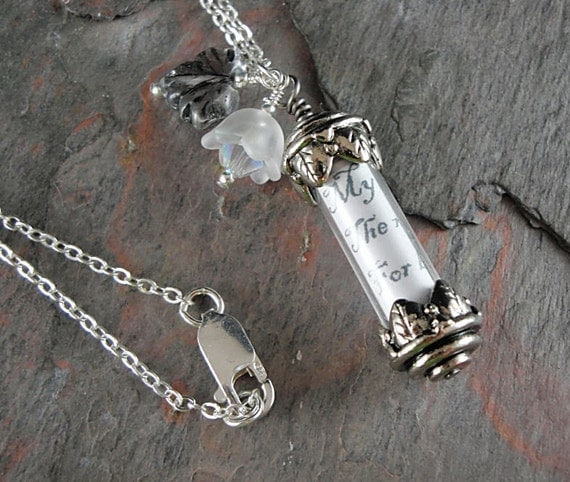 Personalized Pendant Necklace, Silver, Memory Keeper, TPMB