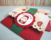 Holiday Gift Card Holder - Set of 3