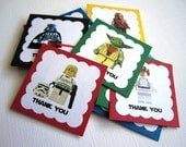 Star Wars Thank You Tags - Set of 15