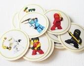 Ninjago Stickers - Set of 24