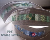 Patchwork Headband PDF Sewing Pattern
