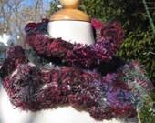 winter berry scarflette