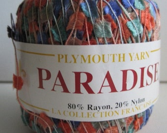 one ball of plymouth yarns paradise yarn destash