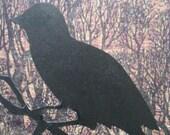 Original Halloween ACEO Raven