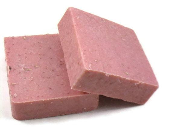 Clearance Pink Lemonade Scrub Cold Process Soap Soap