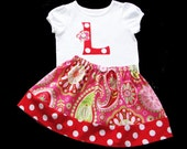 Paisley Gypsy.. INITIAL Outfit...  Polka dots Paisly Collection