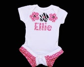 Boutique..Personalized ....Ruffle legged ONESIE