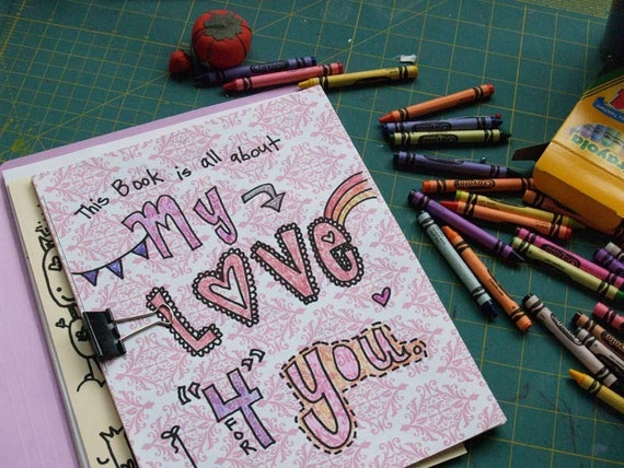 Printable Pdf Diy Love Letters Art Journal For The One You
