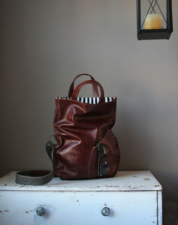 The Tambale. Leather Handbag. Made to Order.
