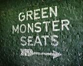 Fenway Park Green Monster Seats - 5x7 Photographic Print
