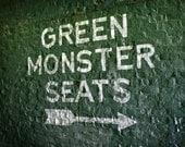 Fenway Park's Green Monster Seats - 8x10 Photographic Print