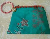 Lotus Flower wristlet