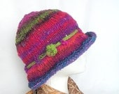 Simple Knit Hat Knitting Pattern Tutorial Easy Knit Hat Pattern, instant download file