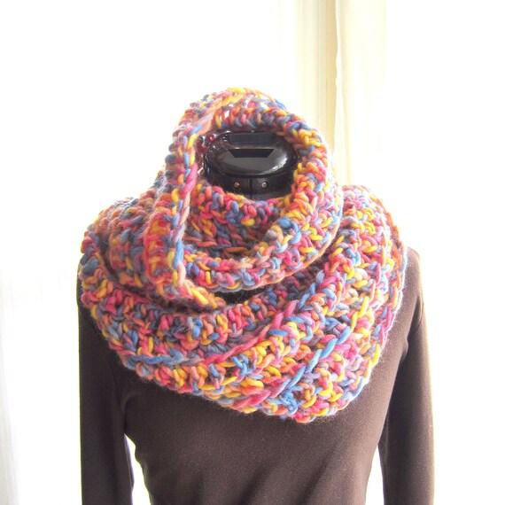 Easy Crochet Scarf Pattern Tutorial pdf Easy Infinity Scarf Crochet  Easy Crochet Infinity Scarf Tutorial