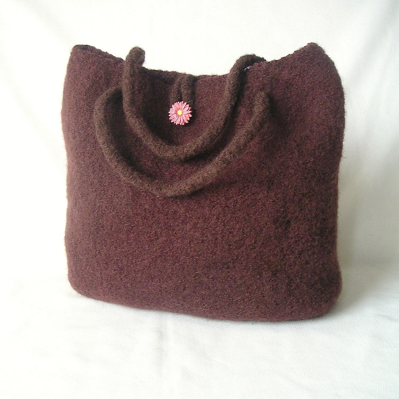 Easy Knitting Pattern For Bag : Easy Knitting Pattern Knit Bag Pattern by GraceKnittingPattern
