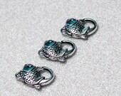Designer Fish Clasp- jewelry finding