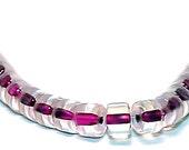 Rhubarb Jelly- vintage glass beads