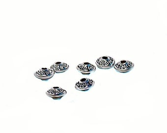 Silver Spacer Beads