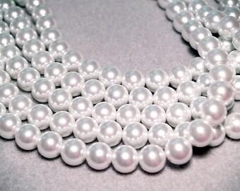 Big & Beautiful- designer glass pearls