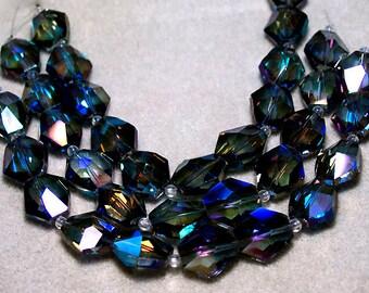 Ultramarine- crystal beads