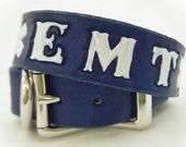 EMT Leather Dog Collar