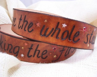 Martin Luther King Jr Quote Belt