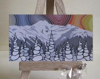 Mount Elizabeth Artwork Magnet