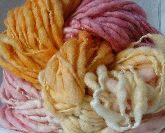 Handspun Yarn - MULTI MARSHMALLOW