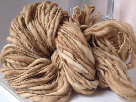 Handspun Yarn - CAPPUCCINO
