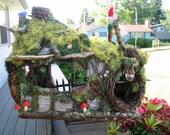 OOAK Gnome Cottage doll house Waldorf, woodland style