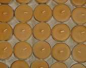50 Pure Beeswax Tea Lights