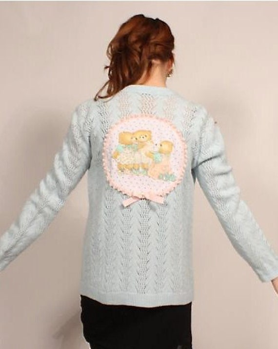 Bears Applique Sweater