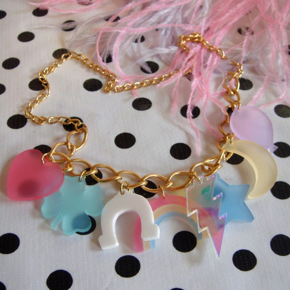 Lucky Charms Charm Necklace