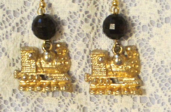Train Earrings