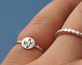 Bird Ring Sterling Silver Ring