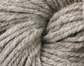 SALE - Natural Llama Handspun Super Bulky 3 Ply Llama Wool Yarn 104 Yards 7.2 oz