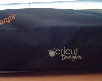 Dust Cover Cricut Imagine, Expression , Silhouette Cameo  Curio - Custom  - NEW - Personalized Logo Monogram Die Cutting