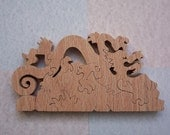 Wooden Dragon Puzzle
